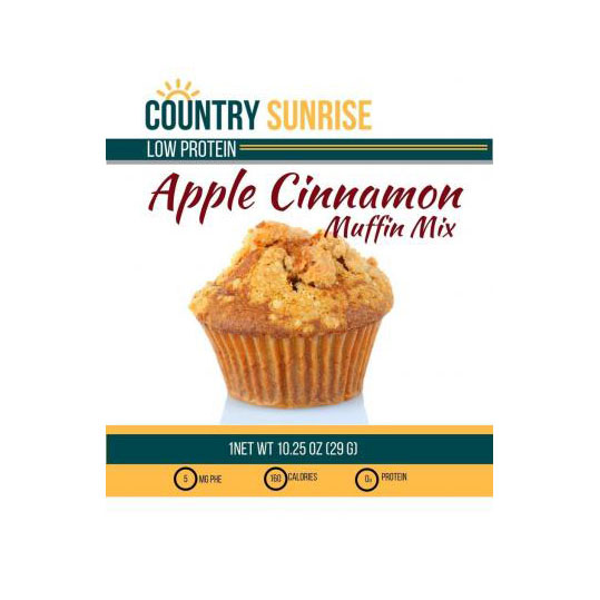 Country Sunrise Apple Cinnamon Muffin Mix *S/O