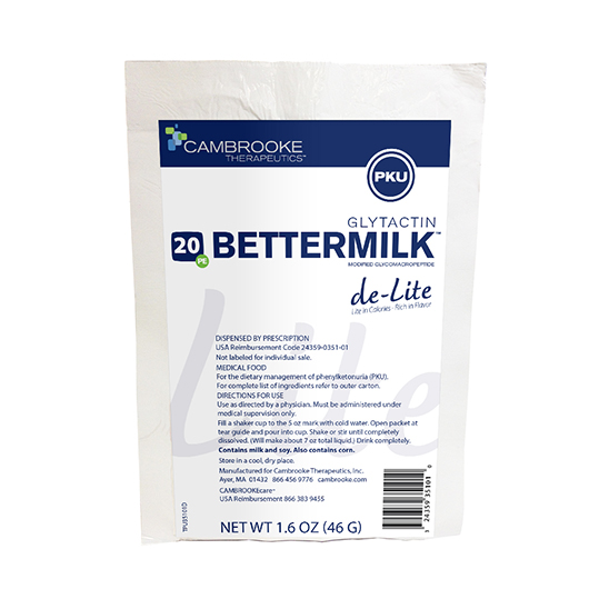 Glytactin BetterMilk Lite *S/O