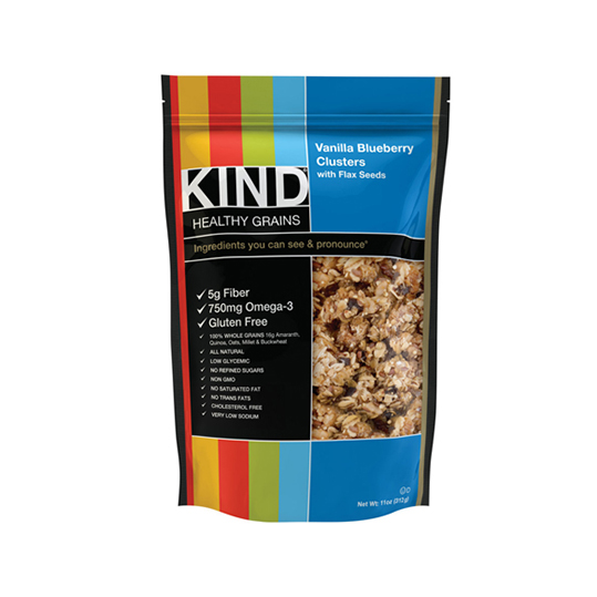 KIND Clusters - Vanilla Blueberry w/Flax Seeds