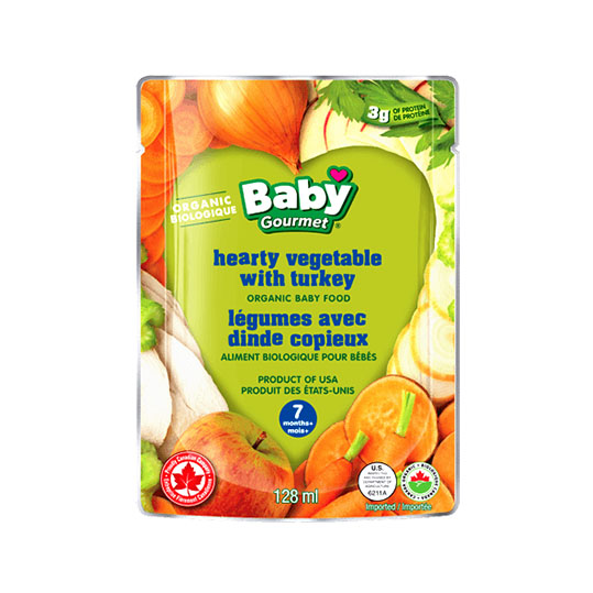 Baby Gourmet - Hearty Vegetables with Turkey