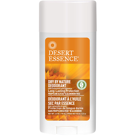 Desert Essence Dry-By-Nature Clear Deodorant