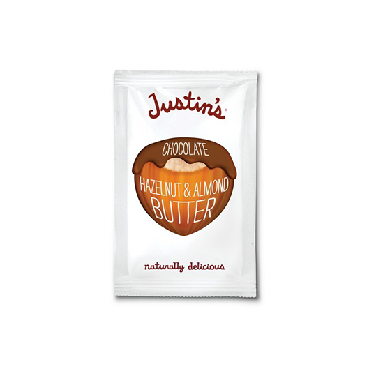 Justin's Chocolate Hazelnut Butter- Squeeze Pack
