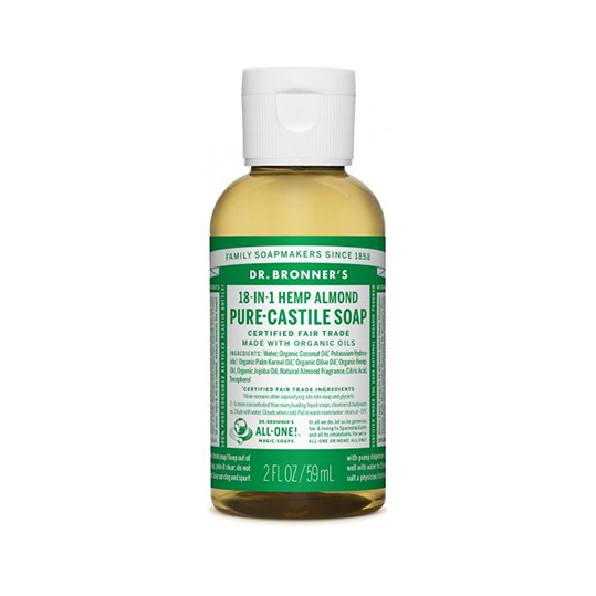 Dr. Bronner's Liquid Soap - Almond (59mL)