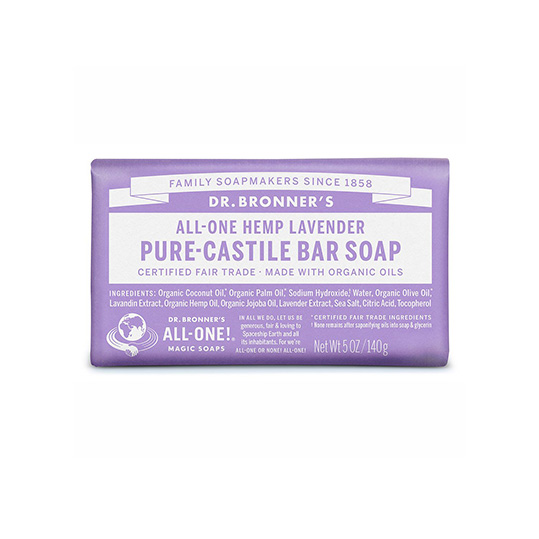 Dr. Bronner's Bar Soap - Lavendar
