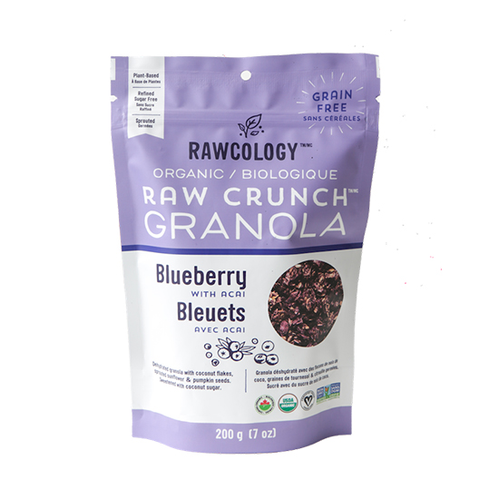 Rawcology Blueberry with Acai Granola