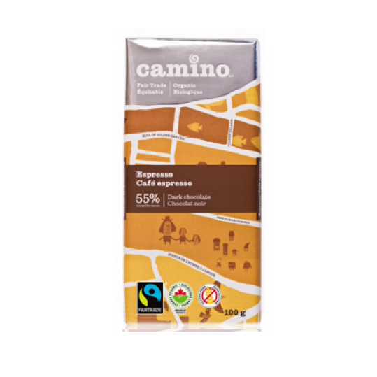 Camino Chocolate Bar - Espresso 55%