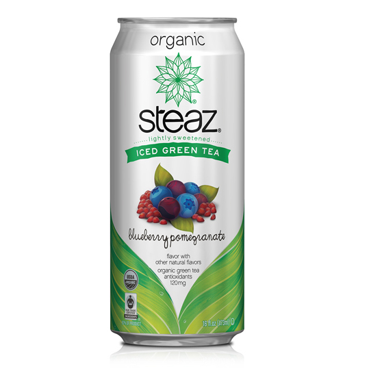 Steaz Iced Green Tea Blueberry Pomegranate