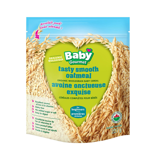 Baby Gourmet Infant Cereal Smooth Oatmeal