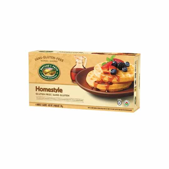Nature's Path Homestyle Frozen Waffle