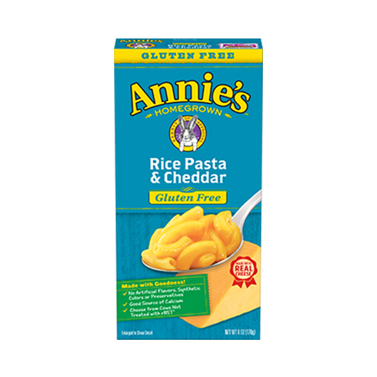 Annie's Rice Pasta and Cheddar Macaroni and Cheese