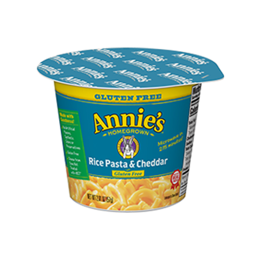 Annie's Rice Pasta and Cheddar Mac & Cheese CUP