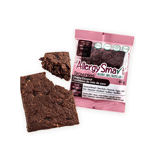 AllergySmart Cherry Coconut Brownie