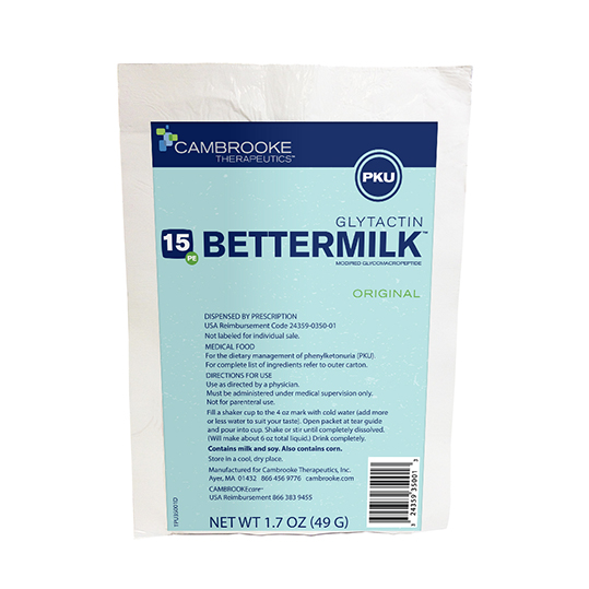 Glytactin BetterMilk 15 (Original) *S/O