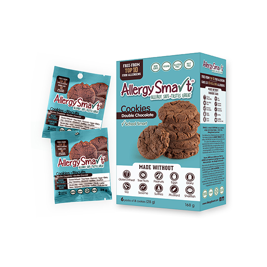 AllergySmart Double Chocolate Cookies