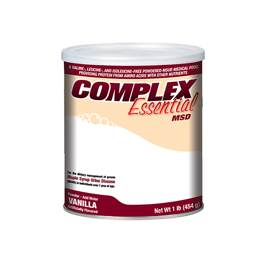 Complex Essential MSD Drink Mix (Vanilla)