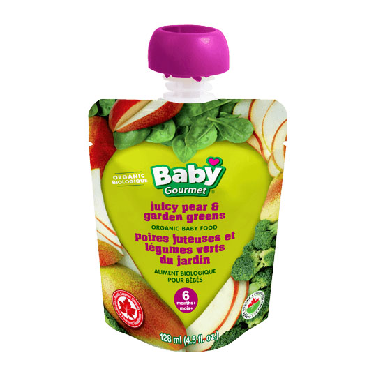 Baby Gourmet - Juicy Pear and Garden Greens