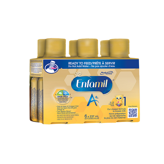 Enfamil A+ Ready to Feed (6-Pack) *S/O