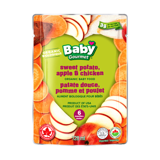 Baby Gourmet - Sweet Potato, Apple and Chicken