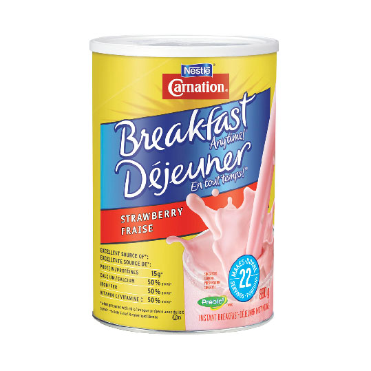 CARNATION Breakfast Essentials (3 X 880g) - Strawberry *S/O