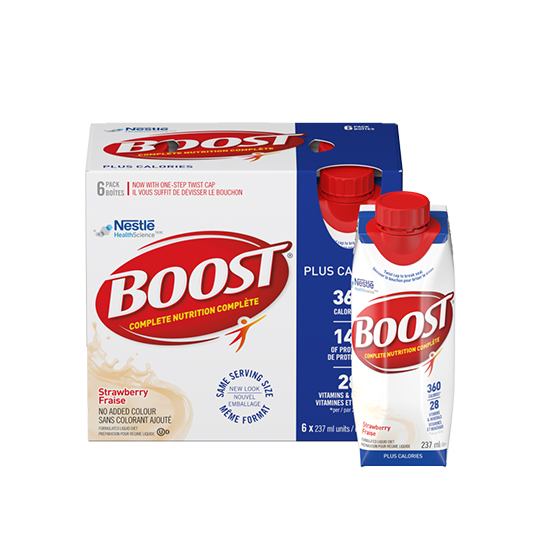 Boost Plus Calories (Strawberry)