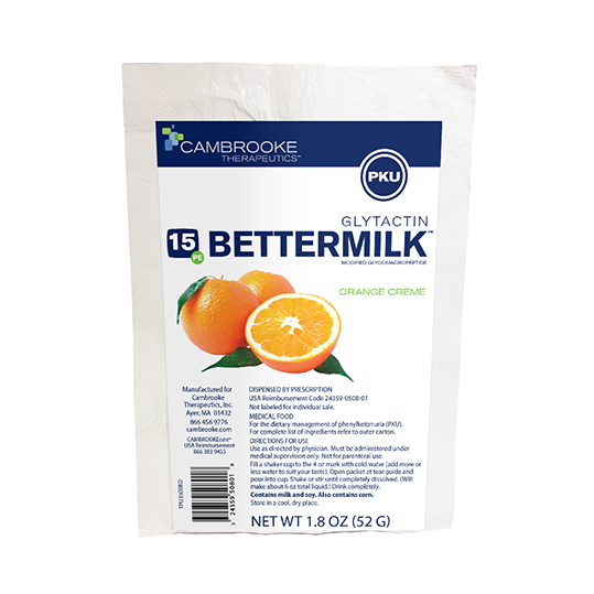 Glytactin BetterMilk 15 (Orange Creme) *S/O
