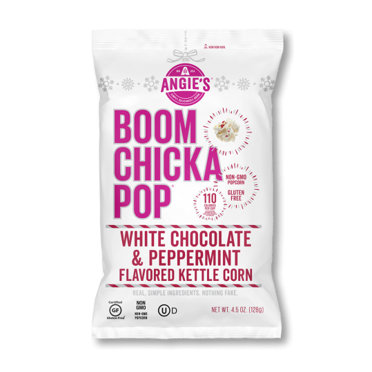 Angie's BOOMCHICKAPOP - White Chocolate Peppermint